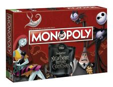 MONOPOLY - THE NIGHTMARE BEFORE CHRISTMAS - Winning Moves 44710 - NEU