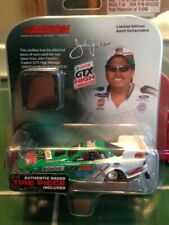 "JOHN FORCE ""CASTROL GTX"" 1/64 NHRA FORD MUSTANG F/C DIE CAST W/PIECE OF SLICK!"
