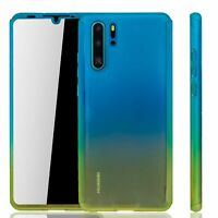 Huawei P30 Pro New Editition Case Phone Cover Heavy Duty Foil Blau/Yellow
