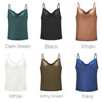 Fashion Women Summer Loose Vest Top Sleeveless Casual Blouse Tank Tops T-Shirt