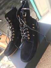 NEW!Jerome DREYFUSS Black Cheyenne ANKLE boots,shoes,MOccasins,sz 9/39,SOLD OUT!