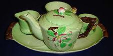 AUSTRALIAN DESIGN CARLTON WARE APPLE BLOSSOM TEA FOR ONE BREAKFAST SET