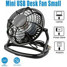Стол мини-вентилятор небольшой супер тихий персональный воздушный охладитель питания Usb портативный стол вентилятор