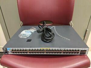 HP J9772A PROCURVE 2530-48G POE+48-Ports-Ports Ethernet Switch