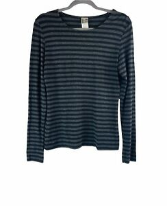 Lilith Striped Long Sleeve Top Size M
