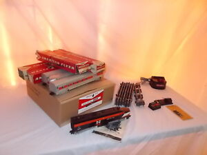 AMERICAN FLYER #20340 NEW HAVEN DIESEL PASSENGER TRAIN SET WITH BOXES LT #F-72