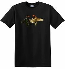 GAME FIGHTING MENS SS SHIRT TSHIRT COCK ROOSTER GALLOS GAMEFOWL CHICKEN T