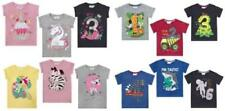 Novelty/Cartoon Scoop Neck Short Sleeve T-Shirts, Top & Shirts (2-16 Years) for Girls