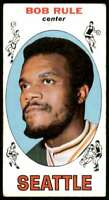 1969-70 Topps Poor/Creased Bob Rule Seattle Supersonics #30