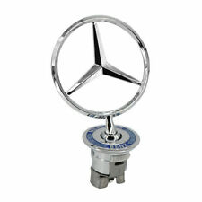 OEM For Mercedes-Benz Front Hood Ornament Mounted Star Logo Badge Emblem US