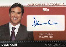 AMERICAN PIE AUTOGRAPHS - APA-16 DEAN CAIN (SUPERMAN/CLARK) AUTOGRAPH CARD 21/50