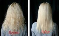 Liss Brazilian Keratin Blow Dry Hair Treatment Kit/Salt Free Shampoo+Conditioner