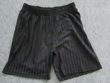 black  school PE shorts size 11-12