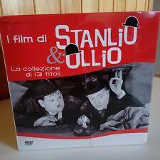 Cofanetto sigillato con 13 DVD Stanlio e Ollio Serie completa NUOVO