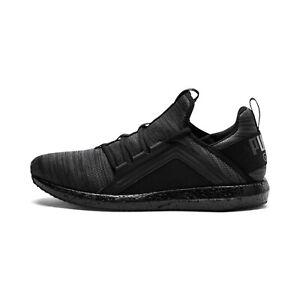 Puma Mega NRGY Soft Foam Heather Black Trainers for Men Footwear Sport Shoes NEW
