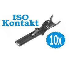 10 x ISO Kontakte Radio Pin 24mm Stecker Buchse männlich Adapter Timer