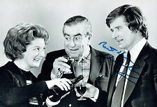 William Bill ROACHE Ken BARLOW SIGNED Autograph Photo 1 AFTAL COA Coronation St
