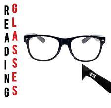 Reading Glasses 1.50 Unisex  Mens Ladies Trendy Designer Spring Geek