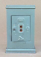 Ancien jouet tirelire COFFRE FORT JEP & lion PEUGEOT métal old toy moneybox