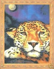 Jaguar Luna Cross Stitch Chart-Kustom Krafts-jw-032
