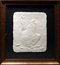 "R.C. Gorman ""Aunt Etta"" framed Paper Cast Hand Signed & Numbered Art Make Offer!"