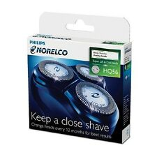 BRAND NEW Norelco HQ55PLUS HQ56 Reflex Plus Replacement Razor Shaver Heads