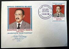 MADAGASCAR  639   PREMIER JOUR FDC      DOCTEUR JOSEPH RASETA       30F     1980