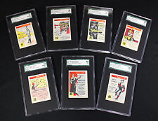 "1953 Quaker Oats ""Ripley's Believe It Or Not"" - 7 Different cards SGC 84 to 96"