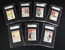 """1953 Quaker Oats """"Ripley's Believe It Or Not"""" - 7 Different cards SGC 84 to 96"""