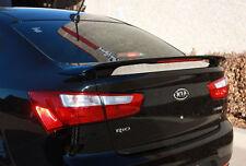 Fits: Kia Rio 4 Door Sedan 2012+ Painted Custom Rear W/LED Spoiler Made in USA