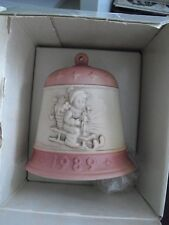 1989 Hummel Goebel First Edition Christmas Bell in Box