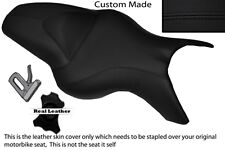 BLACK STITCH  CUSTOM FITS BMW K 1200 R 05-08 K 1300 R 09-13 DUAL SEAT COVER