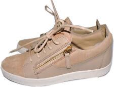 2fb06a2c31e Material  Suede. 13 watching. Giuseppe Zanotti Beige Skate Wedge Sneakers  Zipper Shoe 36.5 Loafer