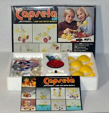 Capsela 400 Construct Motorized Land & Water Building Toys Complete in Box 0120!