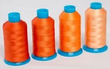 Marathon Polyester Embroidery machine thread: Shade Pack -  Oranges 4 x 1,000m