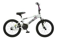 """Rooster Radical Kids 18"""" Roue Freestyle BMX Vélo Blanc Violet RS113"""