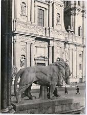 Wolff & Tritschler München Theatinerkirche Orig. Silbergel.- Leica- Foto um 1940