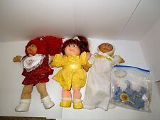 Two Cabbage Patch Kids One Cabbage Patch Baby and Outfit