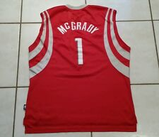 Vintage  REEBOK Houston Rockets Tracy McGrady STITCHED NBA Jersey Men's XL