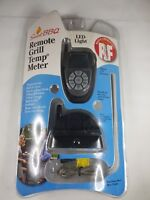 Smart BBQ Remote Control Grill Temp Meter Digital LED 100 Foot Range NOS 2006