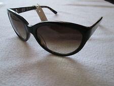Cc Marrone Tortoiseshell Cat's Eye occhiali da sole. CCS01. MONACO. NUOVA CON SACCHETTO.