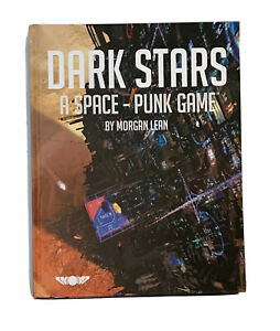 Dark Stars A Space Punk Game Guide Roleplaying Cyberpunk Game Hardcover Book VGC