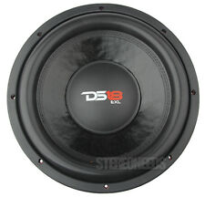 "DS18 EXL-B12.4D 12"" INCH CAR SUBWOOFER 2000 WATT DUAL 4 OHM COMPETITION SUB RED"