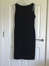 Size 12 Moschino Black Cocktail Dress with Sparkle Thread.
