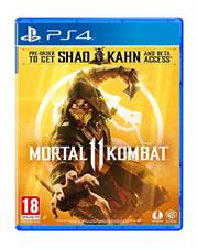 Playstation 4-Mortal Kombat 11 Juego Nuevo