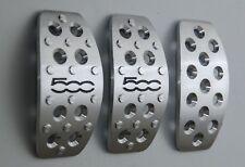 FIAT 500 aluminium pedal set