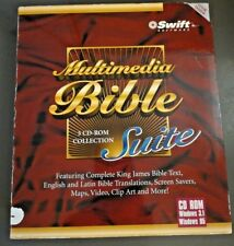 Swift Multimedia Bible CD ROM Software Suite for Windows 5 CD Rom Collection WIN