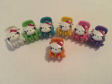 5 mini pince crabe Hello Kitty accessoire cheveux barrette femme fille enfant