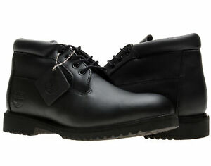 Timberland Classic Waterproof Chukka Black Leather Men's Boots 50059
