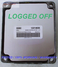 ECU OPEL MERIVA 1,6  12214830 DXBC LOGGED OFF <LEGAL><TESTED>